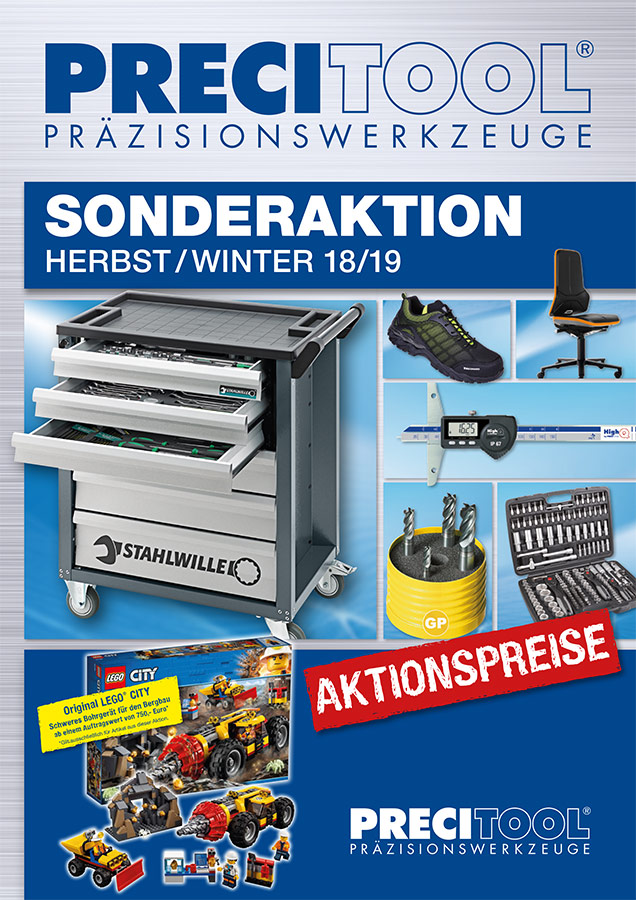 Precitool Herbst Winter 2018/19